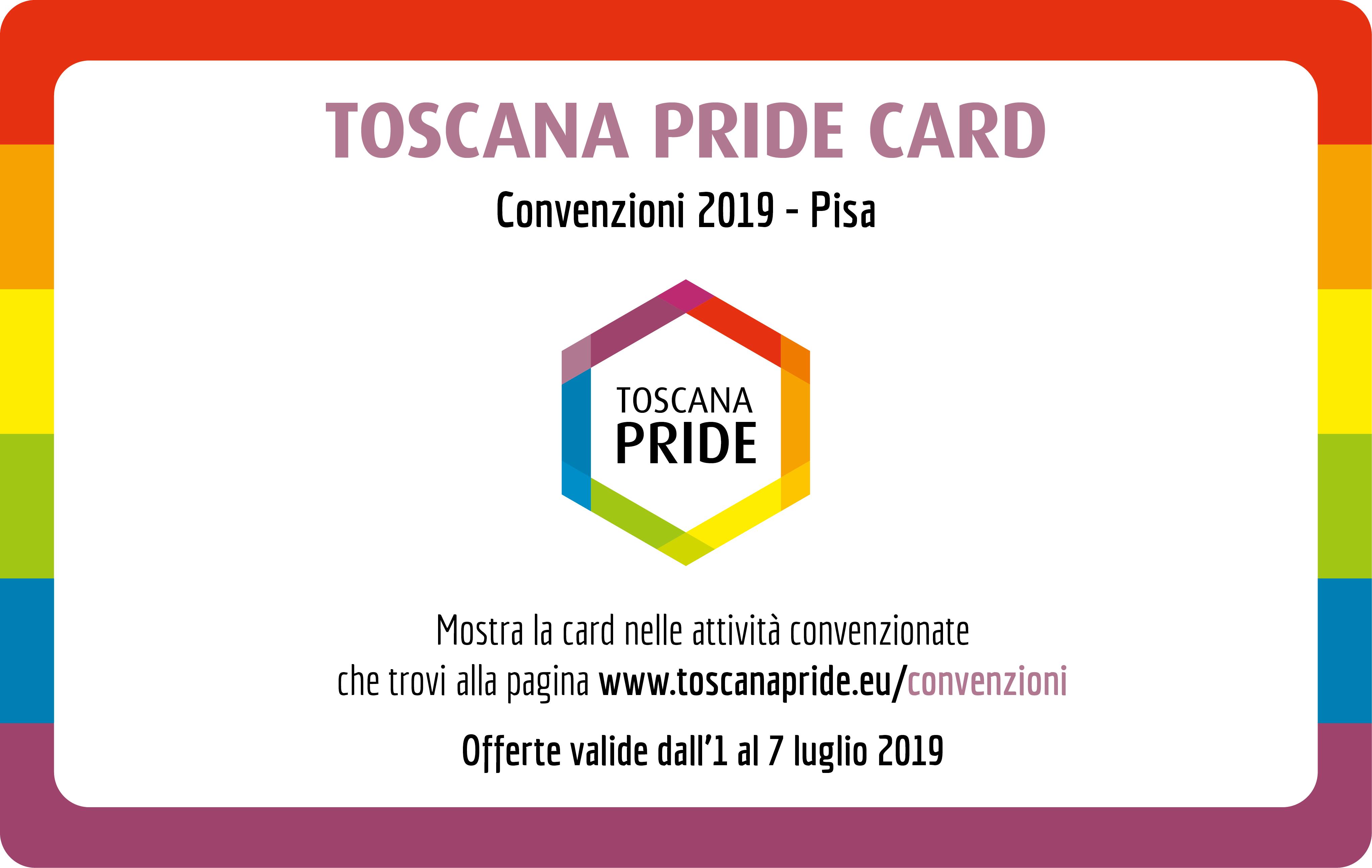 Convenzioni Toscana Pride 2019